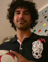 Ethan Zohn, winner of Survivor Africa and co-founder of Grassroot Soccer